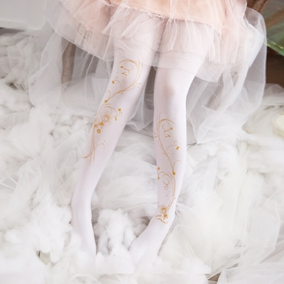 taobao agent Japanese cute Lolita white stockings male long sexy pseudo-girl pantyhose reverse string women's gangster cos supplies