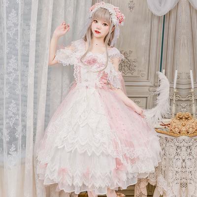 taobao agent Tea party new original lolita dress【Glass Phantom】Girl's Hanayome Dress National Brand Spot Drop
