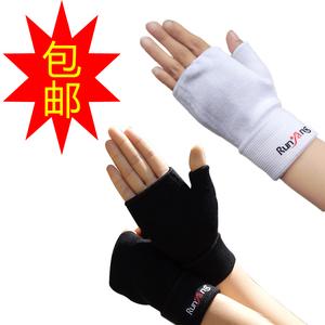 Tập thể dục nửa ngón tay găng tay thiết bị thể thao tay palm bóng chuyền bảo vệ dài cổ tay tạ ngang bar nam giới và phụ nữ đồ bảo hộ