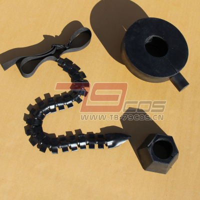 taobao agent Black Rock Shooter BRS Strength/Foot is customized by Yu cosplay props