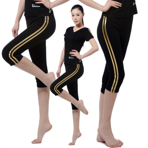 2018 mới nhất trang phục khiêu vũ Mỏng mỏng hip quần thể dục thể dục dụng cụ thể dục nhịp điệu quần áo khiêu vũ Latin 7 quần