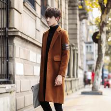 2017冬季新款风衣呢大衣中长款F105-F117