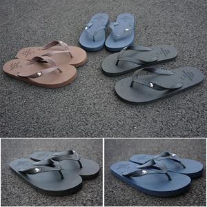 2017 new casual non-slip flip-flops của nam giới dép bãi biển mùa hè xu hướng dép có đế dày và dép đi trong nhà