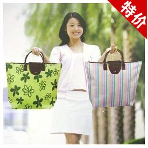Lưu trữ hoàn thiện đồ dùng gia đình lưu trữ thời trang gấp màu xanh lá cây mua sắm túi mua sắm túi lưu trữ túi màu xanh lá cây