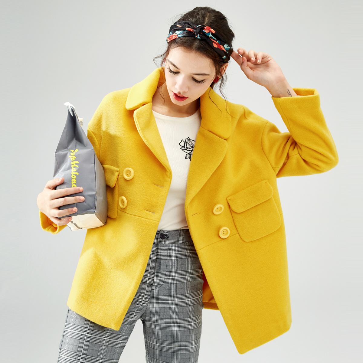 [2 miếng 50% off] Lecho mùa xuân nữ mềm chị len áo khoác nữ ngắn đoạn áo len nhỏ sinh viên Hàn Fan