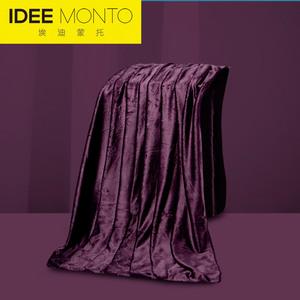 Eddie Monto nhà dệt bộ đồ giường siêu mịn thảm chống tĩnh đơn giản dị chăn điều hòa không khí chăn chăn mền