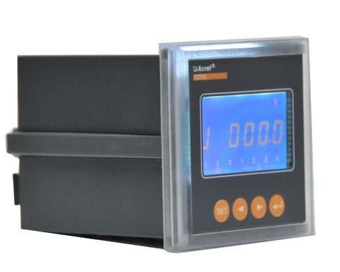 安科瑞厂家直销PZ42L-AV/M 带4-20mA模拟量 单相液晶 显示电压表