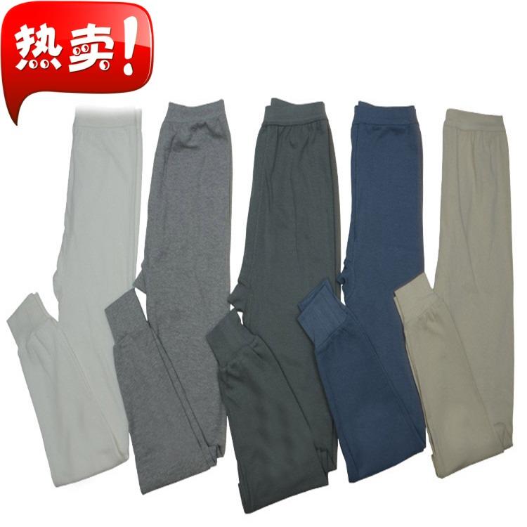 Hàng ngày đặc biệt người đàn ông trung niên và cũ bông mùa thu quần mảnh duy nhất bông phần mỏng quần ấm cộng với chất béo lỏng dòng quần bông quần