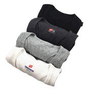 Bốn màu bông cơ bản mô hình siêu đàn hồi tốt kim thread vest mỏng không tay màu rắn mặc cơ sở