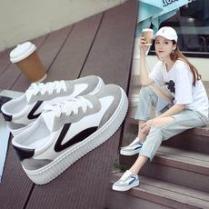 2017秋季新款时尚小白鞋女鞋jzpx3071