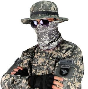 Của nam giới lực lượng đặc biệt chiến thuật đa chức năng ACU ngụy trang 07 mặt nạ kỹ thuật số ấm cổ áo nhanh chóng làm khô chống bụi UV