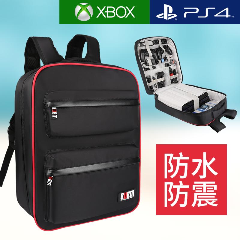 BUBM Sony PS4 gói host XBOX game console lưu trữ bag PRO máy chủ đặc biệt phụ kiện bảo vệ ba lô