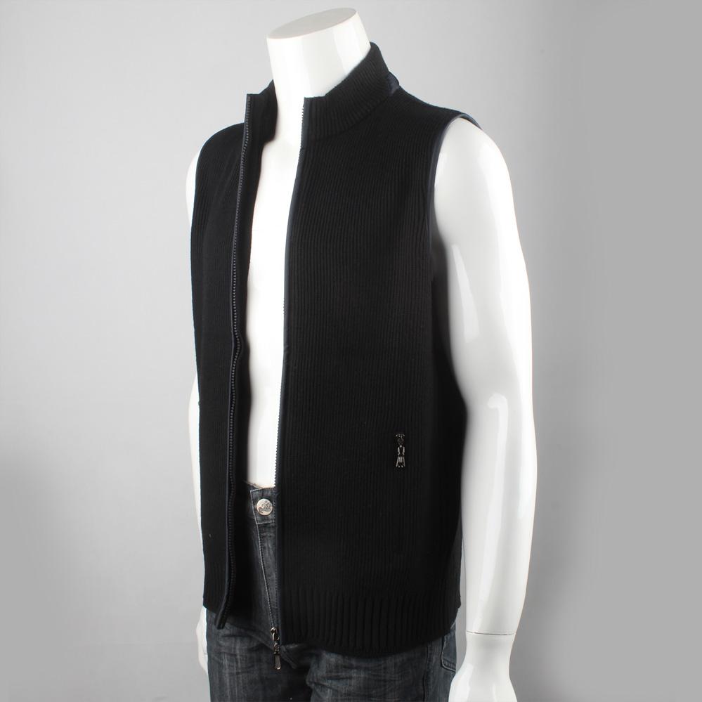 9505 tàu hoàng đế thương hiệu người đàn ông mới của dây kéo cardigan casual vest XL đan len nam vest
