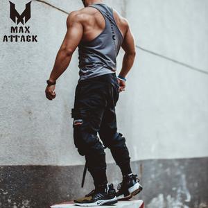 High street tide thương hiệu ins multi-pocket dụng cụ quần của nam giới thể thao và giải trí chiến thuật chức năng quần lỏng chùm chân paratrooper quần