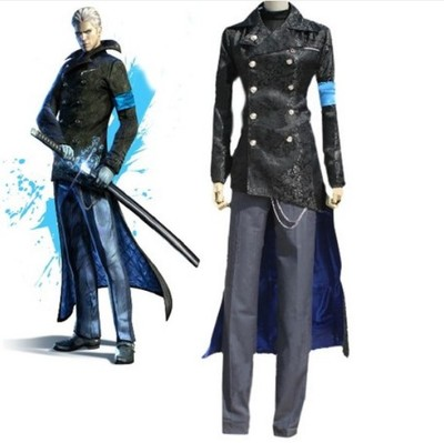 taobao agent cosplay anime game Devil May Cry 5 Virgil cos clothing free shipping custom