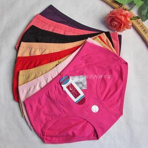 Màu tím đỏ ngày Ixin 6266 bông phụ nữ thoáng khí của đồ lót thấp thắt lưng hông bông tóm tắt 6
