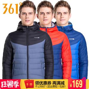 361 độ nam đích thực xuống áo khoác mùa đông thể thao mới 361 đội mũ trùm đầu ấm xuống áo khoác 551644255