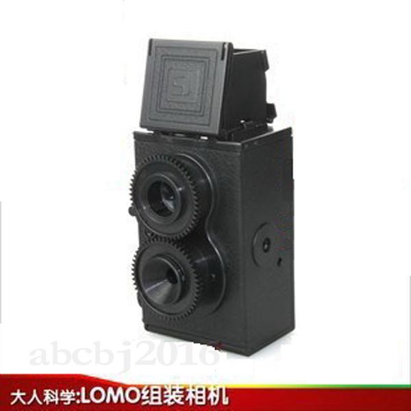 Người lớn khoa học retro máy ảnh đôi chống ống kính đôi lomo camera 135 máy phim mua một tặng hai