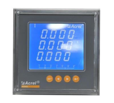 安科瑞PZ80L-AI3/M三相交流数字式 液晶显示 电流表 带模拟量