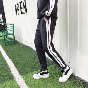 运动裤男士秋季学生韩版百搭休闲长裤跑步青少年卫裤