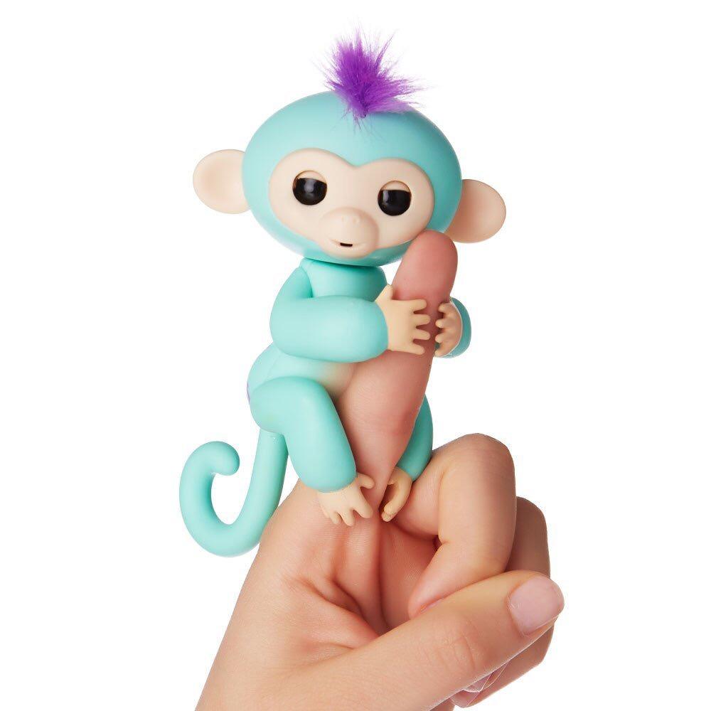 Ngón tay đồ chơi tương tác Warwick Cá đồ chơi trẻ em thông minh đầy màu sắc ngón tay khỉ nam cô gái