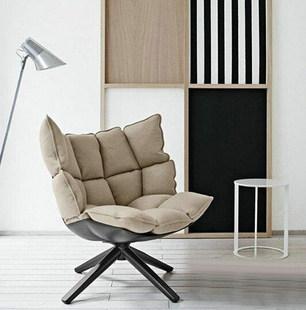 """Свет экстравагантный дизайнер мода творческий простой личность мышца рис оболочка стул """"ротари"""" случайный подлокотник сиденье ясень маньчжурский"""