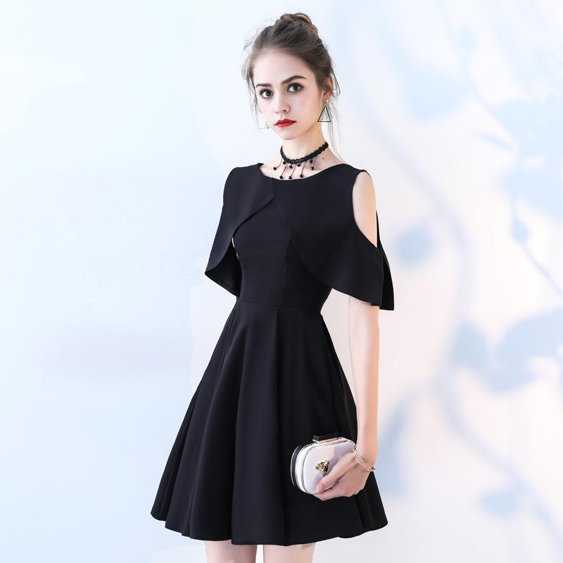 53f28141843 Вечернее платье женщина 2019 новый летний вечеринку платье короткое платье  мини-платье платья черный без бретелек партии. Цена