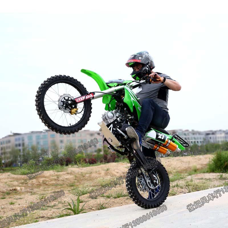 Người lớn hai bánh Apollo off-road xe máy 125cc lớn, trung bình và cao trường trung học leo núi Kawasaki xe đường phố ATV