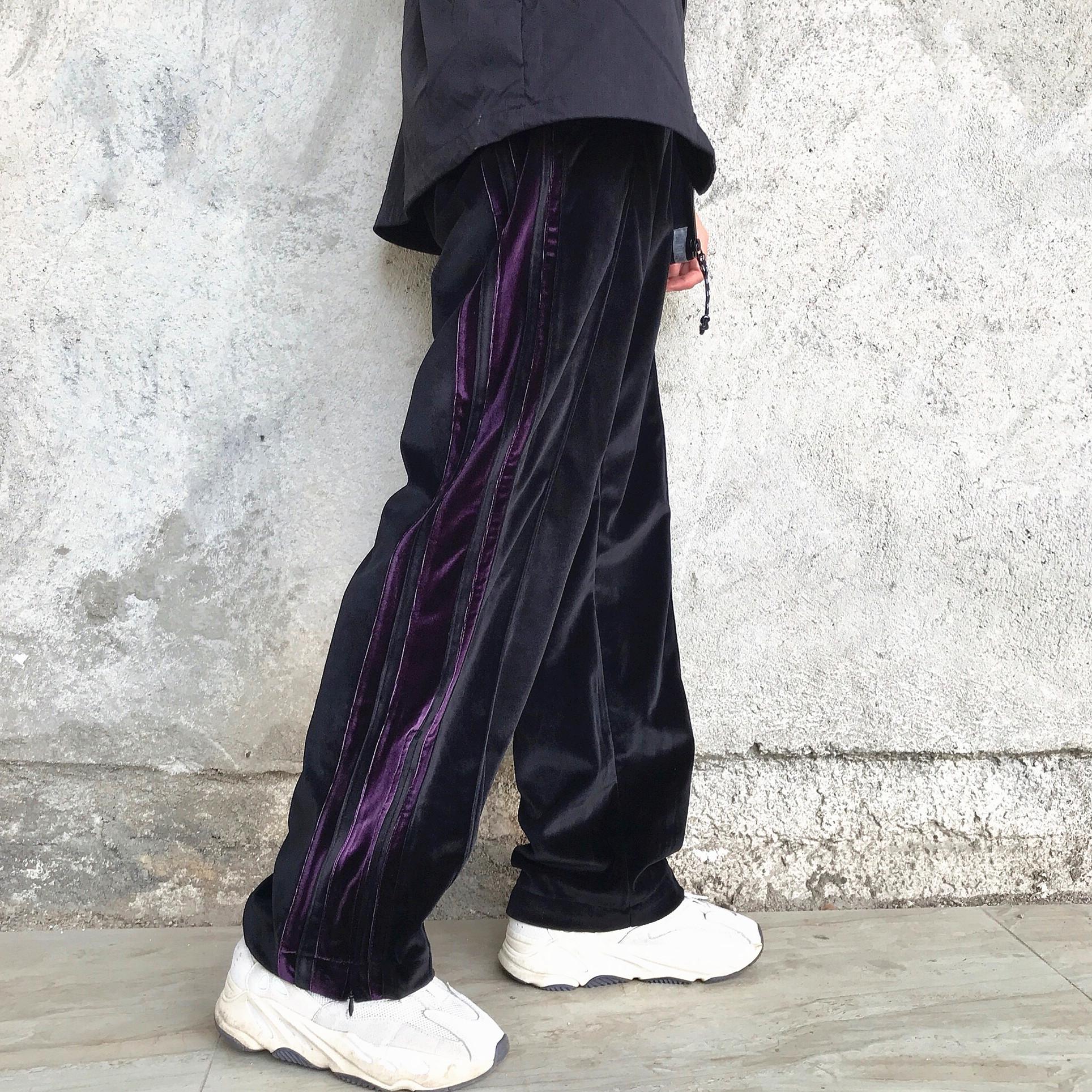 WHOOPSHOP DONSMOKE Quần nhung nam giản dị nam nữ thương hiệu hip hop retro đường dài quần dài - 3/4 Jeans