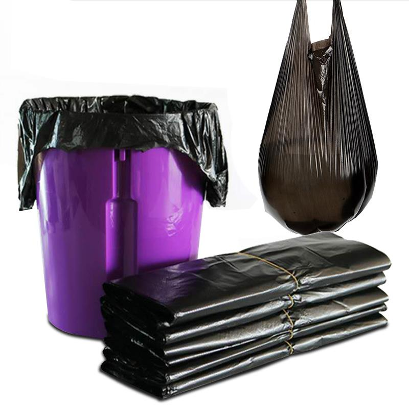 100只断点式家用加厚手提式垃圾袋