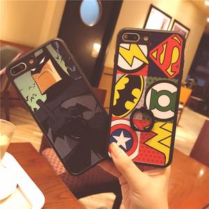恶搞蝙蝠侠个性创意带支架苹果硅胶x挂绳潮