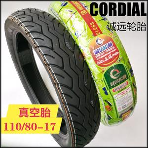 Lốp xe Chengyuan là thích hợp cho tàu miễn phí Jinlong xe máy JL150-56 phía trước và lốp xe phía sau 110 80-17 lốp chân không