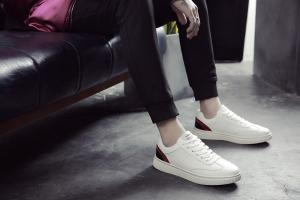 2017春季韩版男士休闲鞋潮流运动板鞋英伦潮鞋百搭小白鞋男鞋
