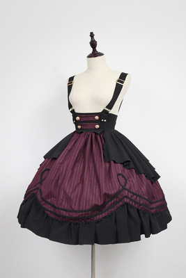 taobao agent There is a time limit soufflesong Morningstar Idol Academy College style lolita strap half skirt sk