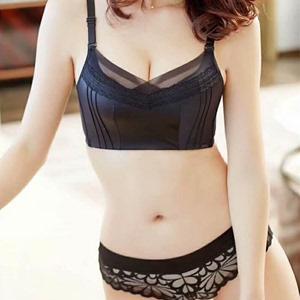 Ai Ke Jin Ni 118 sexy chống ánh sáng đồ lót chính hãng Ai Bikini không có vòng thép thu thập đẹp trở lại áo ngực
