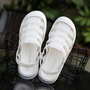 Bao Đầu dép nữ mùa hè non-slip đáy mềm y tá trắng lỗ giày hollow breathable Hàn Quốc phiên bản của sinh viên sinh viên dép đi trong nhà