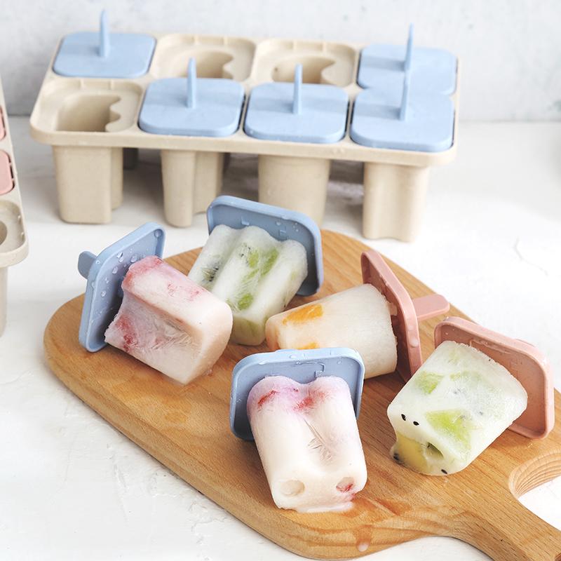 创意卡通字母冰模型DIY冰棍冰格冰棒雪糕模具自制冰激凌冰盒冰糕