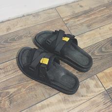 夏季拖鞋男男士室外一字拖懒人休闲