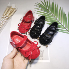 2018春秋新款女童蝴蝶结小公主鞋女孩时尚表演单鞋婴儿鞋时尚童鞋