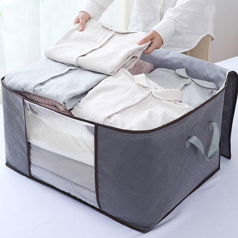 被子衣服收纳袋大号衣物棉被打包袋整理袋行李包手提收纳箱搬家限时抢购