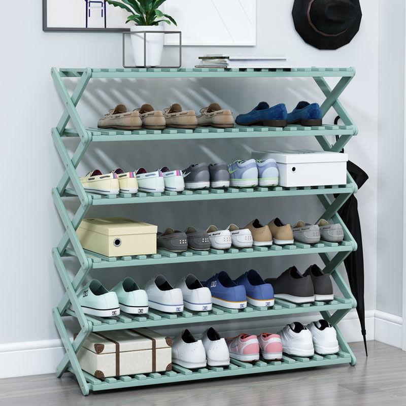 家用经济型免安装折叠鞋架