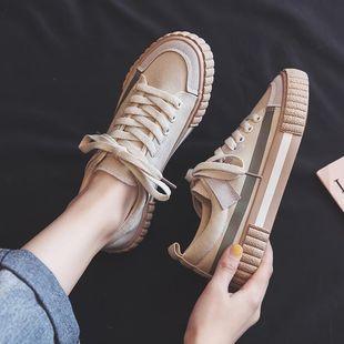 帆布鞋韓版百搭夏ins街拍潮板鞋