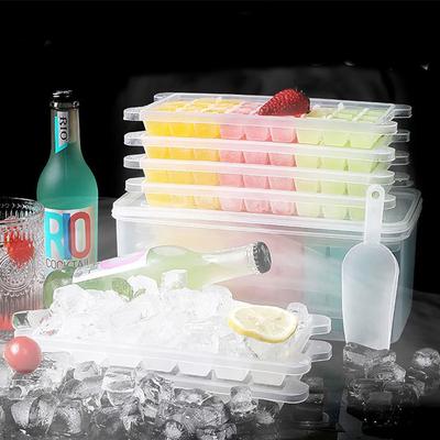 网红制冰块神器冰盒套装冰块格制冰盒模具多功能冰袋家用冰盒带盖