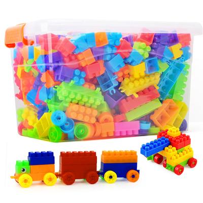 儿童塑料积木玩具男孩多功能积木桌女孩幼儿园益智拼装拼插legao
