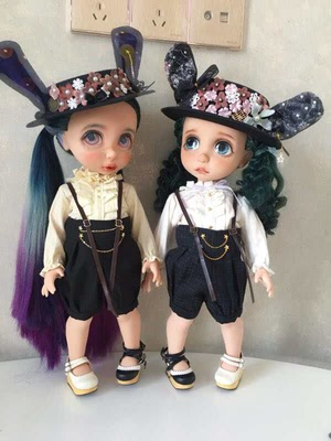 taobao agent Free shipping)Bjd doll clothes salon cloth 1/64 points giant baby big six points holala wearable suit