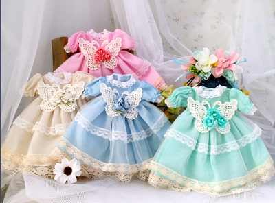taobao agent 【2 pieces of parcels】Bjd doll clothes dress 1/6 points yosd bjdp limited edition flower fairy dress