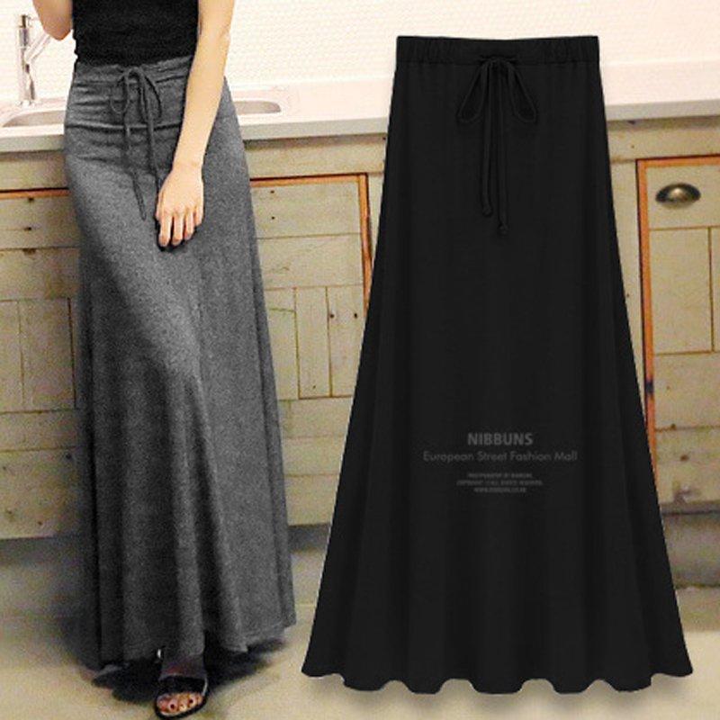 2018秋装新款大码半身裙及不规则长裙包臀裹裙