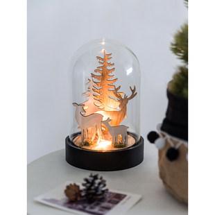 LIMlife рождество творческий звёздная ночь романтический выйти замуж подарок Огненное дерево серебряный цветок led прикроватный свет декоративный небольшой украшение