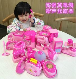 Trẻ em của mô phỏng mini cuộc sống nhỏ đồ gia dụng đồ chơi thiết bị gia dụng nồi cơm điện lò vi sóng máy giặt đồ chơi nhỏ