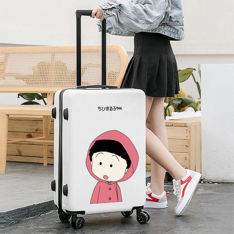 行李箱女学生韩版可爱拉杆箱韩版小清新网红ins潮密码旅行箱子男